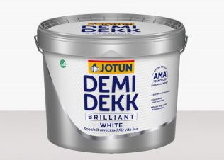 Jotun Demidekk Brilliant White