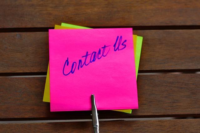 Kontakt Nachricht an uns